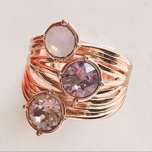 Brilliance Crystals from Swarovski Ring Size 8